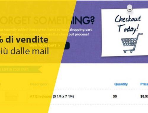 [eCommerce Case Study Envelopes.com] 40% di vendite in più dalle mail